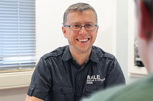 Erik Franke – Geschäftsführer der CM System GmbH