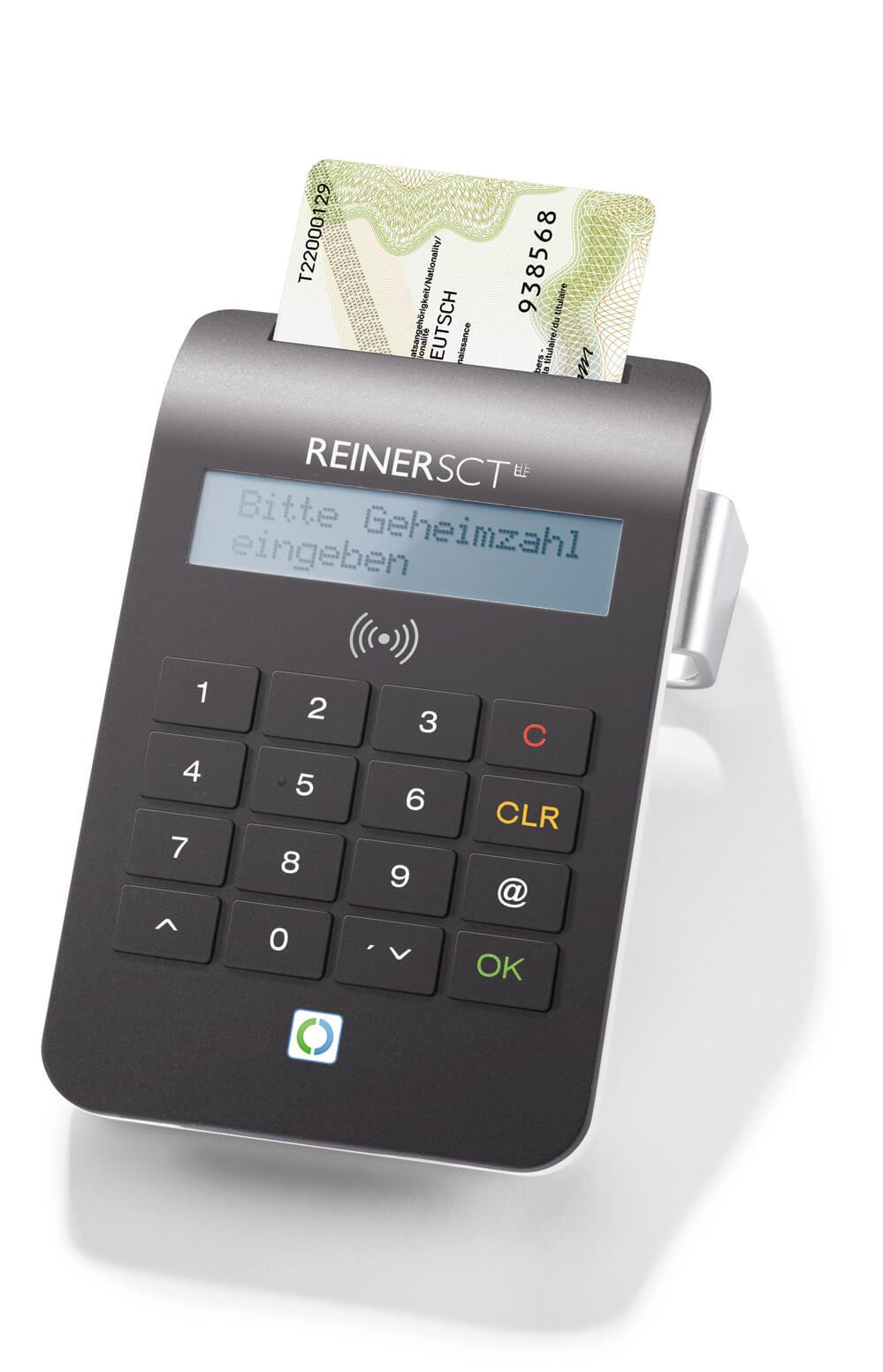 Das preisgekrönte Chipkartenlesegerät cyberjack® RFID komfort